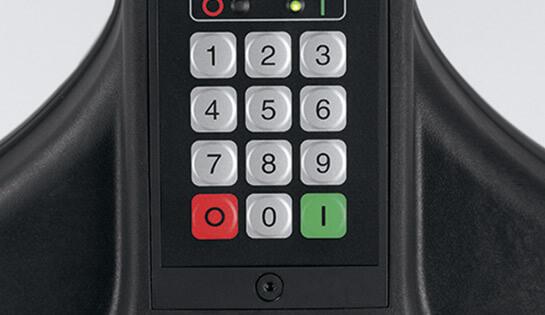 Montacargas 8210 opciones Codigo PIN